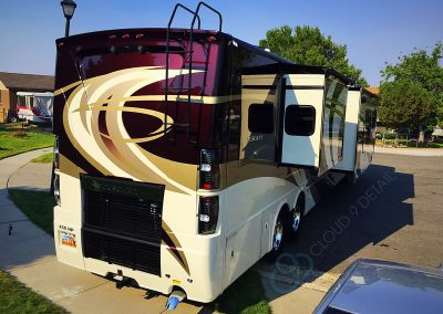 RV Wash and Wax Detailing